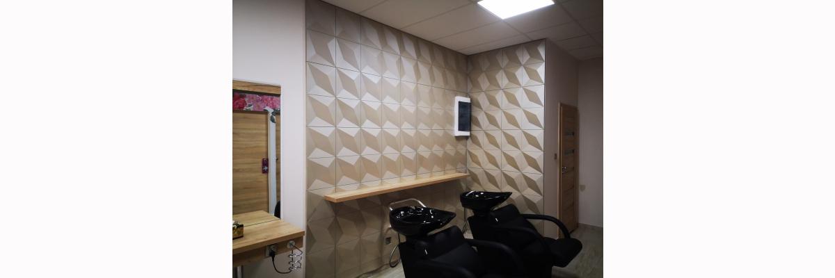 3D wandpaneele - 3D-Paneele lassen sich problemlos sowohl in klassischen als auch in modernen Innenräumen einsetzen